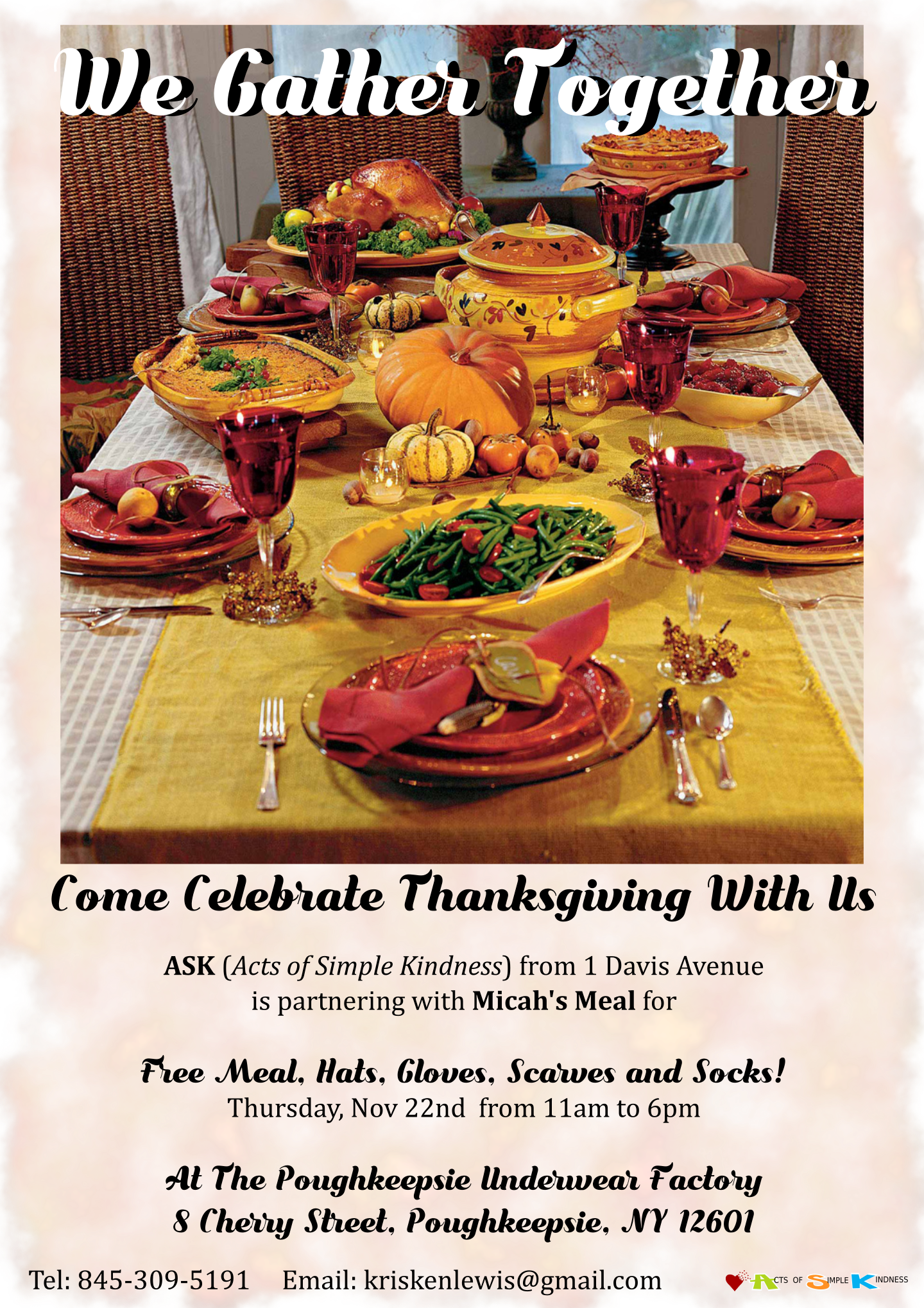 ASK Thanksgiving Dinner 11-2018 updated